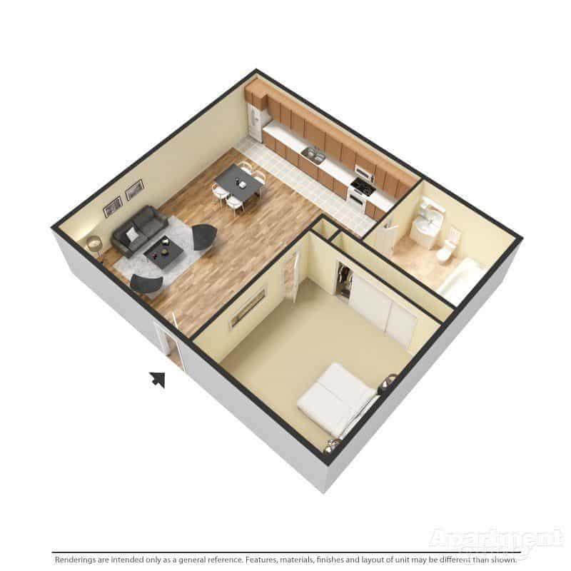 Las Cruces 1 Bedroom Apartments