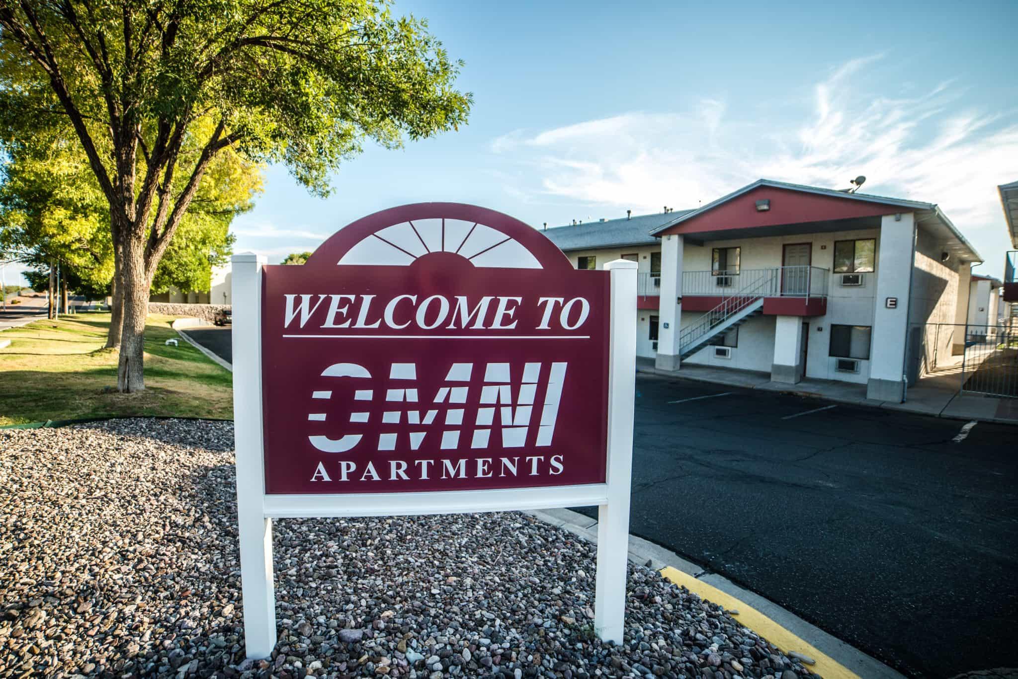 OMNI Apartments Entrance